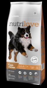 Nutrilove Dog 11480 Adult L 12kg kurczak