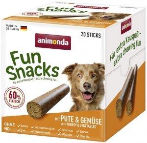 Animonda 82908 Fun Snacks Pałeczki Indyk z warzyw