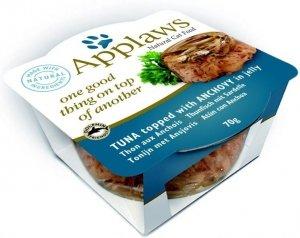 Applaws 7100 Cat Tuńczyk anchois 70g miseczka gal