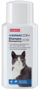 Beaphar 11877 Vermicon szampon dla kota 200ml