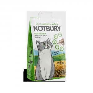 Kot Bury 1558 Zbożowy żwirek zbrylajacy 2,5kg