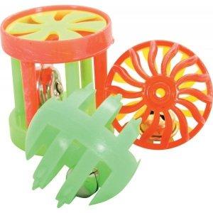 Zolux 580134 Zabawki dla kot 3 zabawki mix 4cm