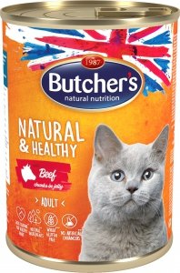 Butchers 5697 Cat Natural&Healthy 400g wołowin gal