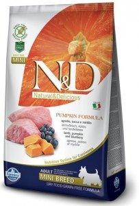 ND Dog NG 3642 Adult Mini Pumpkin 7kg Lamb&Blue