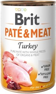 Brit Care Pate&Meat Turkey 400g
