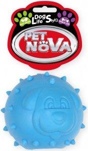 Pet Nova 2134 Piłka na przysmaki 6,5cm, niebieska