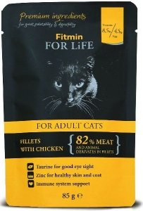 Fitmin Cat 85g For Life saszetka chicken