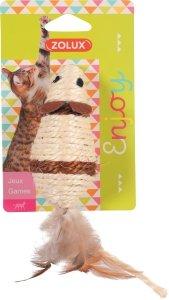 ZOLUX 580714 Zabawka dla kota myszka sizal