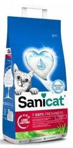 SaniCat 6033 żwirek 7 Days Aloe Vera 4L