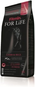 Fitmin Dog 15kg for Life Lamb & Rice