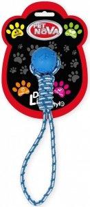 Pet Nova 2257 Piłka na sznurze 40cm niebieska