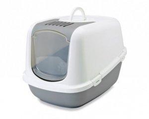 Nestor S-227-00WG Toaleta dla kota biało/szara