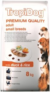 Tropidog 57027 Premium Adult S Duck&Rice 8kg
