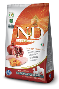 ND Dog NG 3260 Adult M&M Pumpkin 2,5kg Chicken&Po