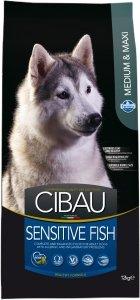 Cibau Dog 1037 Sensitive Fish Medium / Maxi 12kg