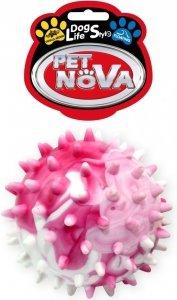Pet Nova 0744 Piłka multikolor z wypustkami 6,5cm