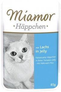 Miamor 73032 Happchen Łosoś Pomidor 85g