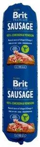 Brit Sausage Chicken & Venision 800g