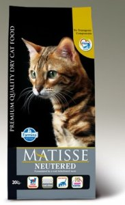 Matisse Cat Adult 10kg Neutered Salmon