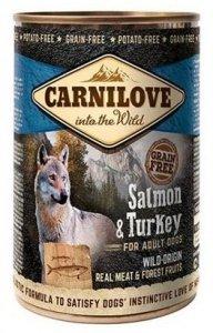 Carnilove Dog 9278 Wild Meat Salmon& Turkey 400g