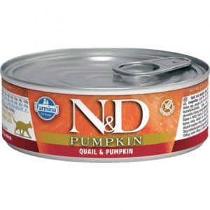 ND Cat 2116 Pumpkin Adult 80g Quail