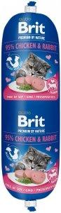 Brit Sausage Cat Chicken & Rabbit 180g