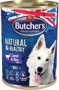 Butchers 5628 Natural&Healthy Jagnięcina ryż 390g