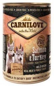 Carnilove Dog 9254 Puppies Salmon&Turkey pusz 400g