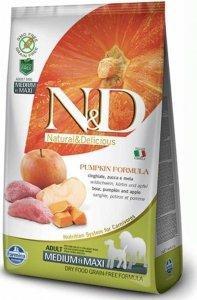 ND Dog NG 3291 Adult Mini Pumpkin 2,5kg Boar&Apple