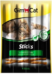 GimCat 420523 Sticks Lamb&Rice 4 szt.