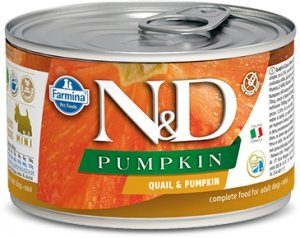 ND Dog 2345 Adult Mini 140g Pumpkin Quail
