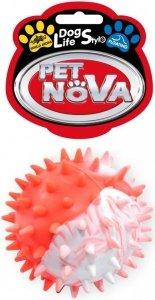 Pet Nova 0737 Piłka multikolor z wypustkami 5,5cm