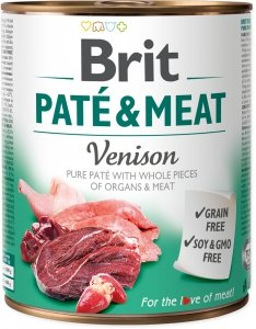 Brit Care Pate&Meat Venison 800g