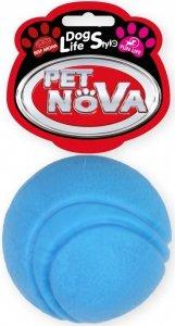Pet Nova 2066 Piłka tenisowa 5cm, niebieska wołowa