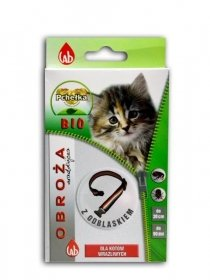 Pchełka 4707 Obroża insekt. BIO odbl 30cm dla kota