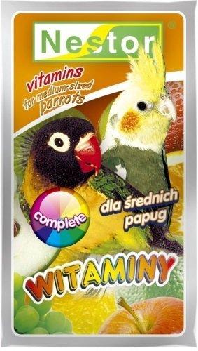 Nestor 0271 Witaminy Papuga Średnia ogólne complet