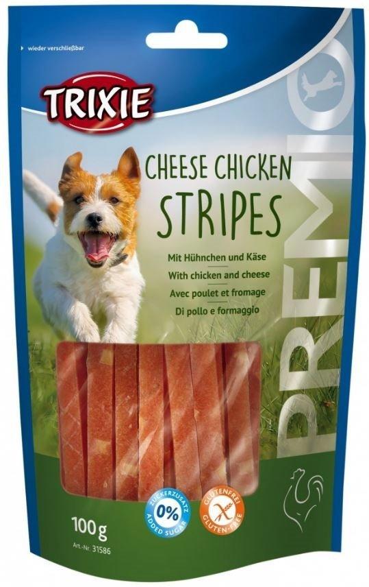 Trixie 31586 Premio Paski serowe z kurczaka 100g