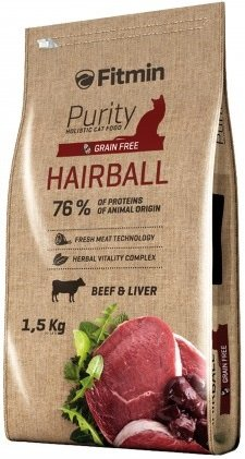 Fitmin Cat 1,5kg Purity Hairball