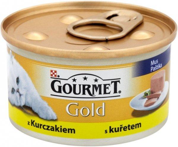 Gourmet Gold 85g Mus z indykiem