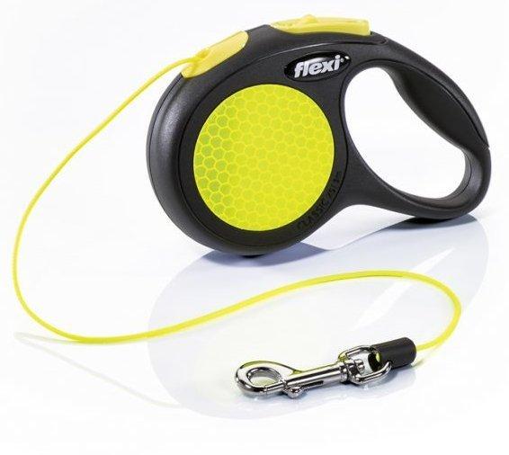 Flexi 2520 Neon XS Cord 3m 8kg