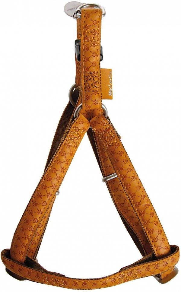 Zolux 522060JA Szelki Mac Leather 20mm żółte