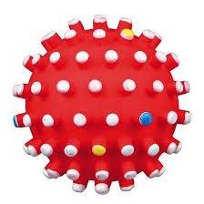 Trixie 3428 Piłka Jeżowa - piszcząca 6cm