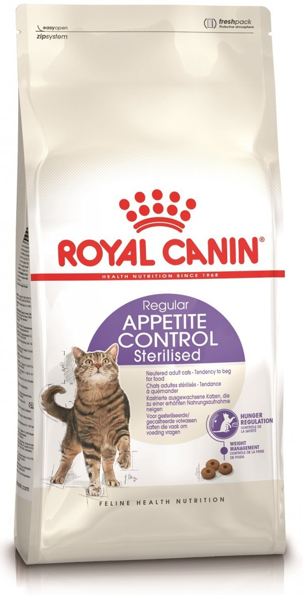 Royal 228010 Sterilised Appetite Control 400g**