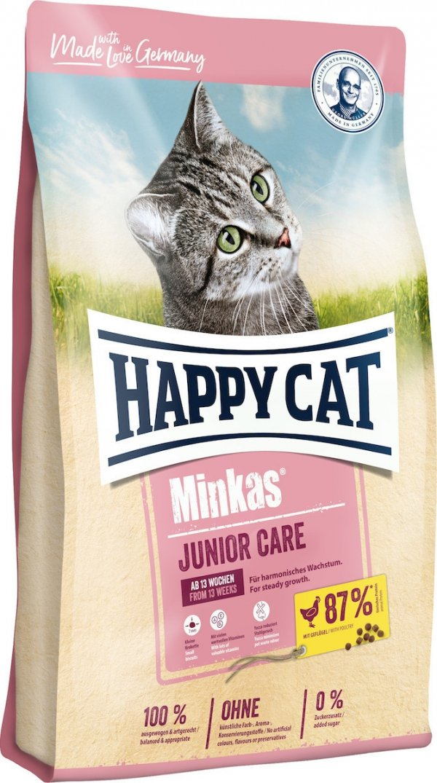 Happy Cat 8156 Minkas Junior Care Drób 10kg