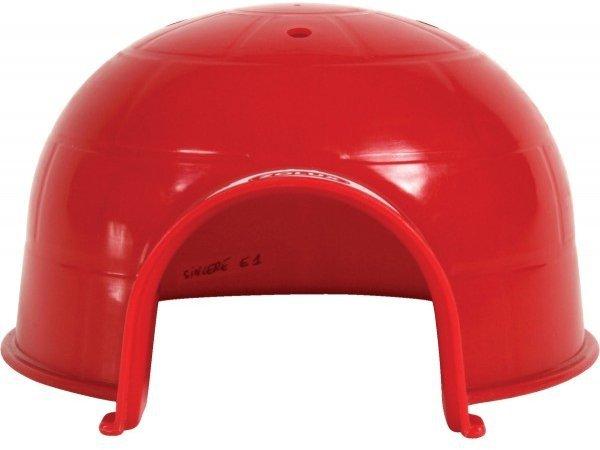 Zolux 280056 Igloo dla gryzonia małe czerwone