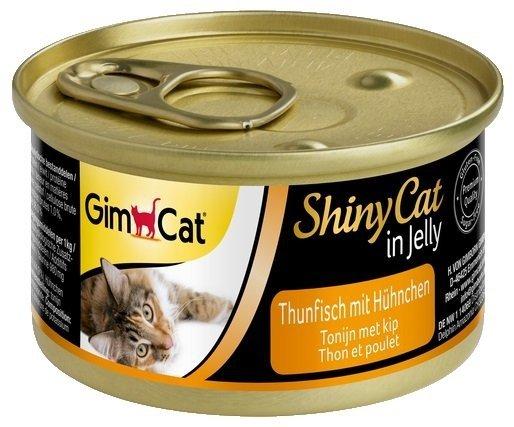 Gimcat 413105 Shiny Cat Tuńczyk Kurczak 70g kot