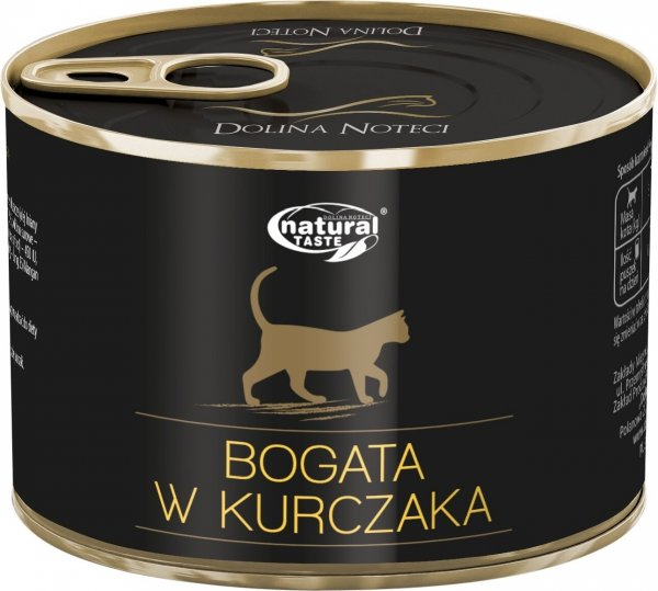 Natural Taste Cat 7493 Bogate w kurczaka 185g