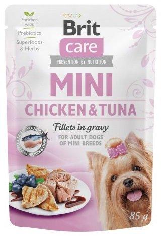 Brit Care Mini 85g Chicken Tuna saszetka