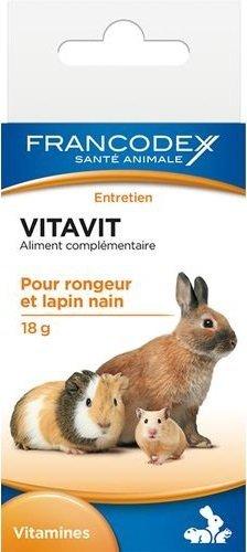 Francodex 174057 Vitavit wit. dla gryzoni 18g