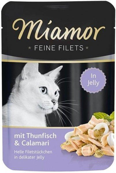 Miamor 74076 Filets Tuńczyk + Kalmary 100gr sasze